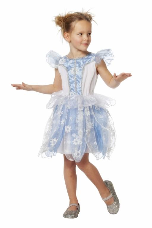 ff86dd2016c22e Prinses blauw. Mooie uitgewerkte prinsessen jurk in de kleur ...